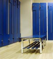 Servicios de limpieza en vestuarios